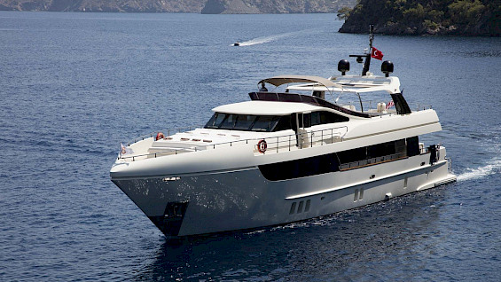 Motor yacht Archsea for rent in Turkey and Greece - Contact Yachts