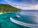 Catamaran ZINGARA in the Caribbean