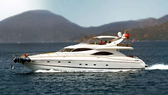 Motor Yacht Charter FELICITY in Turkey | Luxury Yacht Hire Gocek