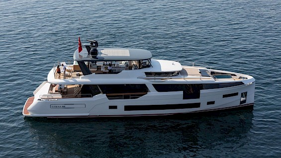 MOANNA II Luxury Motor Yacht in Turkey for Rent | Built in 2020 with Jacuzzi