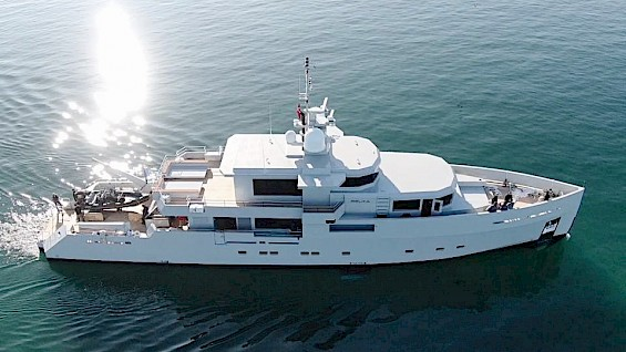 39-m BELKA Tansu yacht for rent in Turkey